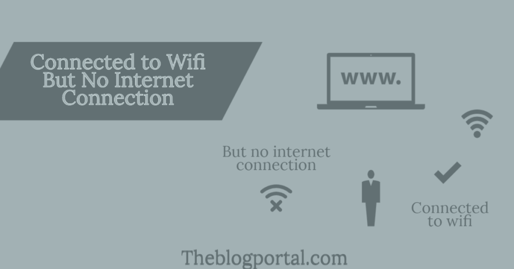connected to wifi but no internet connection